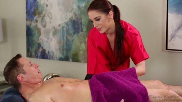 Atemberaubende masseuse Anna De Ville geht wild beim Reiten Kunden schwanze - Pornofilme kostenlos